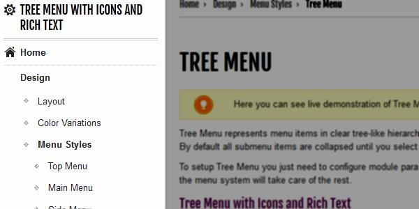 Tree Menu